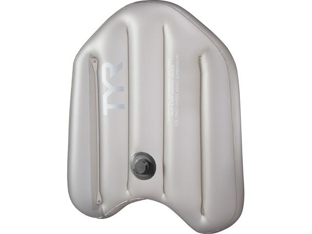 TYR Inflatable Kickboard, szary